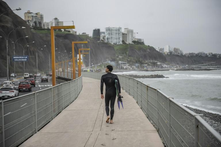 Peru's beaches will reopen gradually to surfers and swimmers under certain restrictions, such as limiting users to no more than one hour in the sea