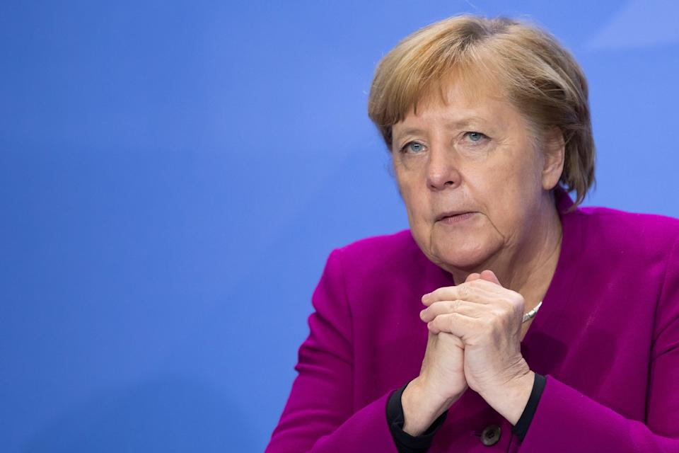 Angela Merkel has tried to cool tensions over talks (FILE) (Getty Images)
