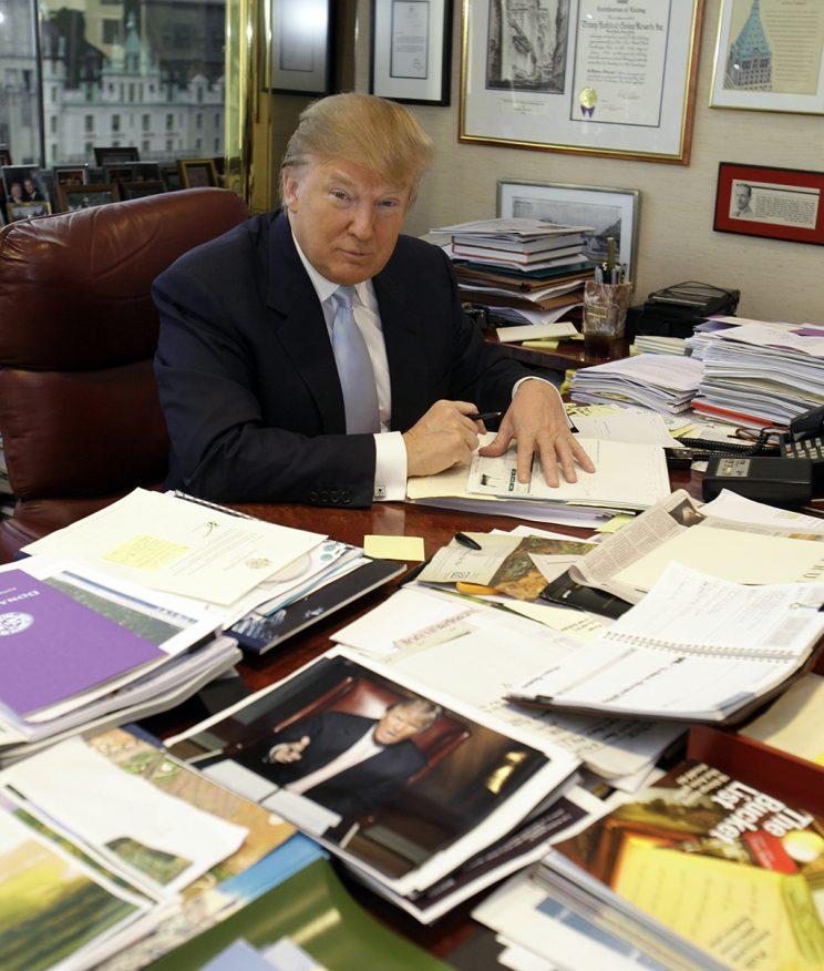 Donald Trump in2010. (AP Photo/Richard Drew)