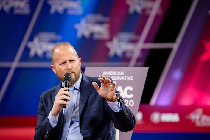 <p>Brad Parscale is reportedly helping Caitlin Jenner in her bid for California governor. File photo.</p> (Photo by Samuel Corum/Getty Images)