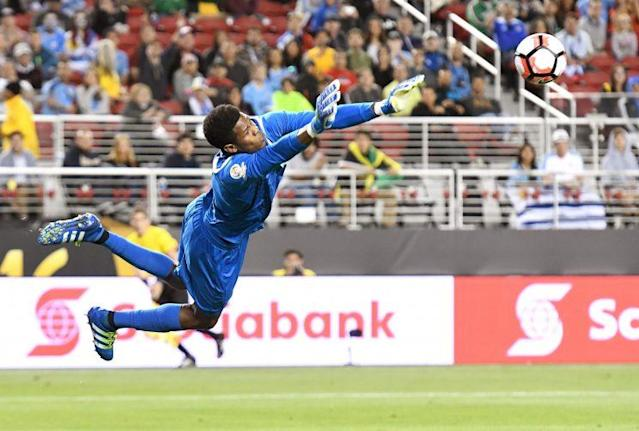 Blake played for Jamaica at the Copa America Centenario. (Getty Images)