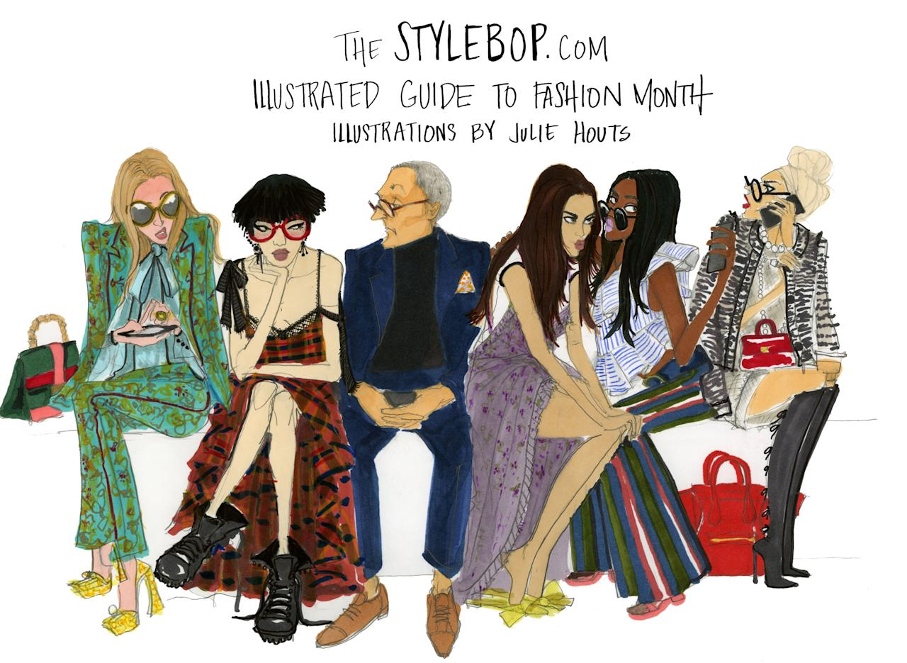Your Illustrated Guide To Fashion Month