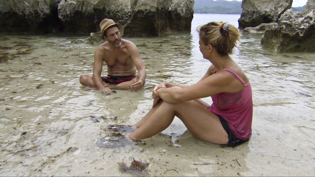 """Jonathan Penner and Lisa Whelchel in the """"Survivor: Philippines"""" episode, """"Little Miss Perfect."""""""