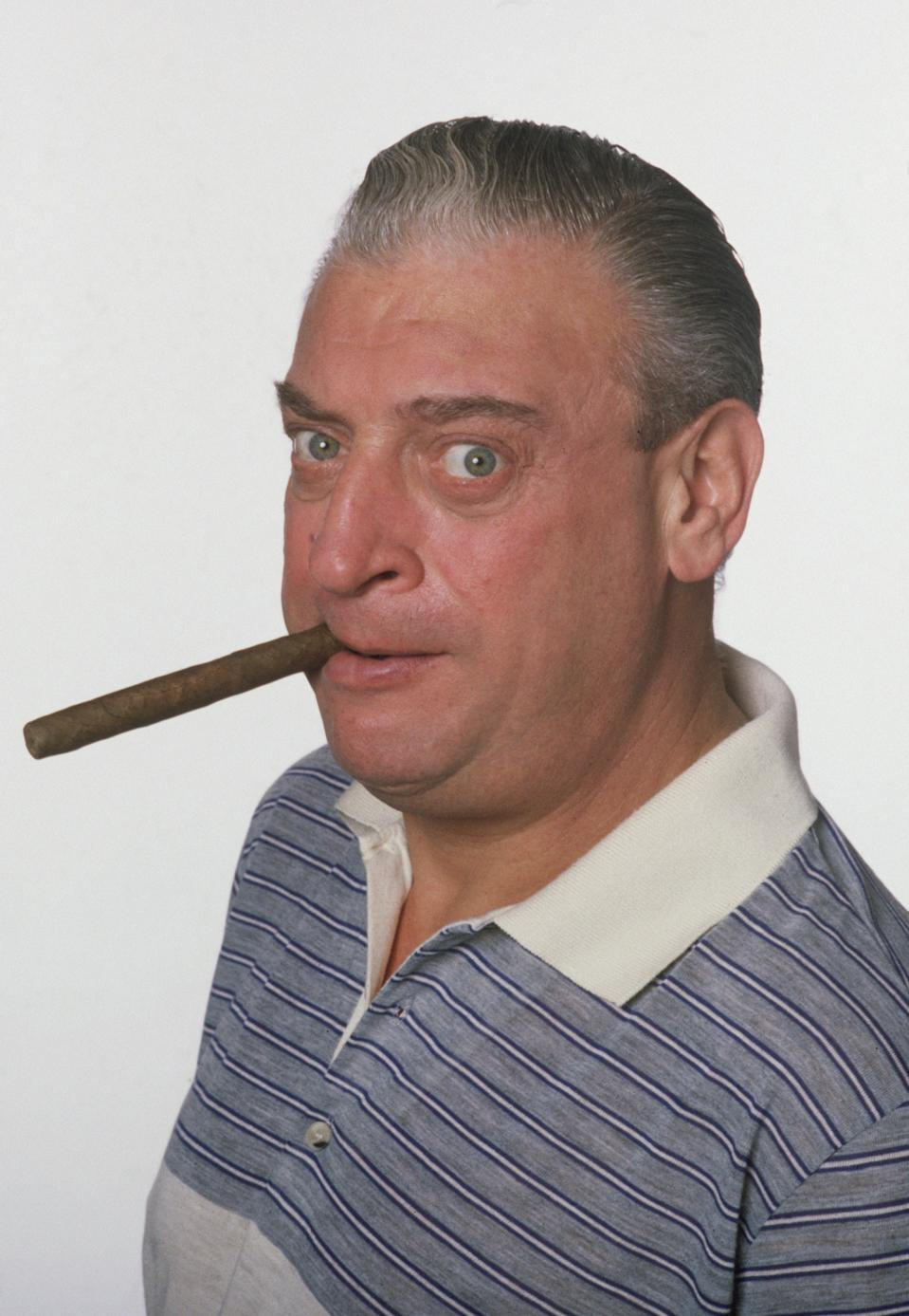 American actor and comedian Rodney Dangerfield (1921 - 2004) as he appears in Caddyshack, directed by Harold Ramis, 1980. (Photo by Hulton Archive/Getty Images)