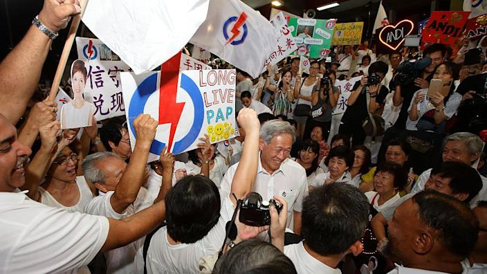 A previous rally in 2015 showed considerable support for the PAP
