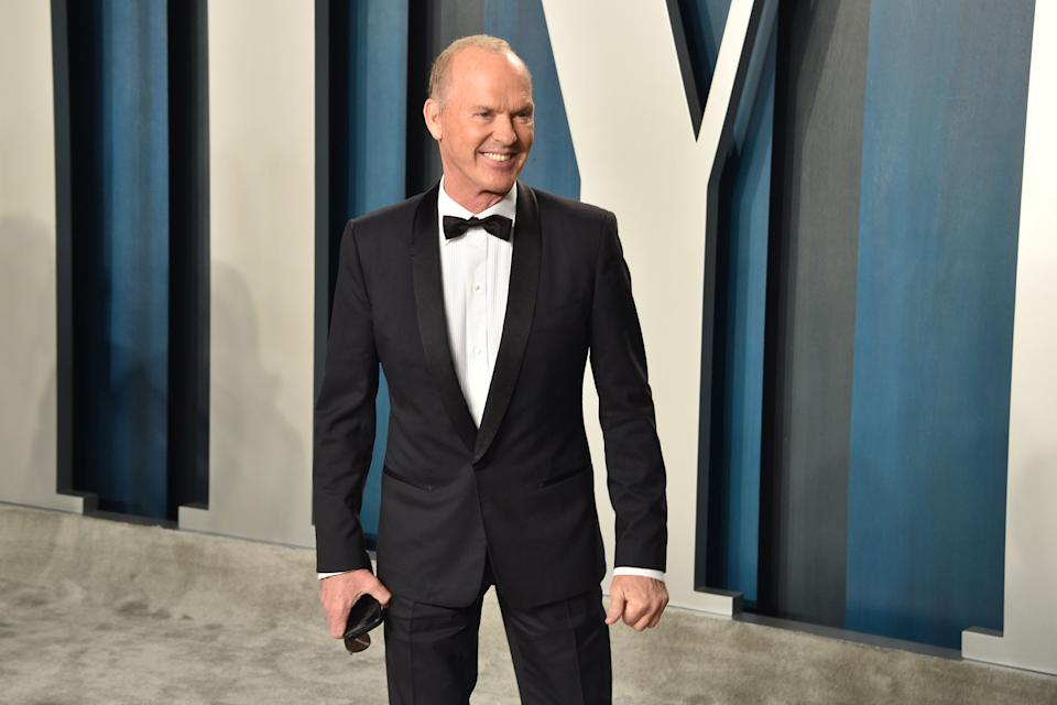 BEVERLY HILLS, CALIFORNIA - FEBRUARY 09: Michael Keaton attends the 2020 Vanity Fair Oscar Party at Wallis Annenberg Center for the Performing Arts on February 09, 2020 in Beverly Hills, California. (Photo by David Crotty/Patrick McMullan via Getty Images)