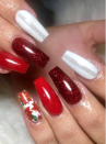 "<p>Like floral nail art? Incorporate the quintessential Christmas plant—the poinsettia—into your manicure like<a href=""https://www.instagram.com/jessicanailsandtraining/"" rel=""nofollow noopener"" target=""_blank"" data-ylk=""slk:nail technician and teacher Jessica"" class=""link rapid-noclick-resp""> nail technician and teacher Jessica</a> did here.</p><p><a class=""link rapid-noclick-resp"" href=""https://go.redirectingat.com?id=74968X1596630&url=https%3A%2F%2Fwww.etsy.com%2Flisting%2F205373804%2Fchristmas-xmas-nail-art-red-flower&sref=https%3A%2F%2Fwww.oprahmag.com%2Fbeauty%2Fg34113691%2Fchristmas-nail-ideas%2F"" rel=""nofollow noopener"" target=""_blank"" data-ylk=""slk:SHOP NAIL DECAL"">SHOP NAIL DECAL</a></p>"