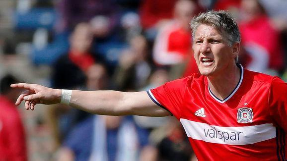 """Bastian Schweinsteiger has revealed his desire to see Barcelona forward Neymar in Bayern Munich jersey one day.  The 32-year-old doesn't believe his former club need to change too much on the personnel front, but when asked by Goal which player he would bring to the club if he was the sporting director, there were no hesitations. He said: """"If you ask me which kind of player I would like to see in the Bayern Munich jersey then I would probably say I would like to see Neymar in a Bayern Munich..."""