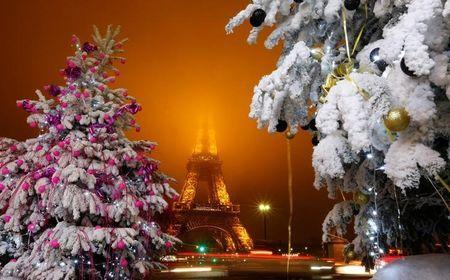 Christmas In France Decorations.France Seeks To Reassure On Christmas Festivities After