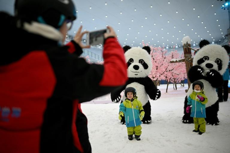 China has previously said it wants to put 10 percent of the world's most populous nation on skis ahead of the 2022 Winter Games