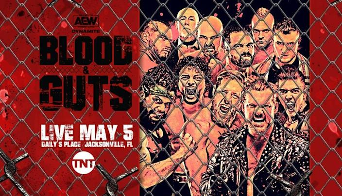 AEW Blood & Guts on Wednesday, May 5 on TNT.