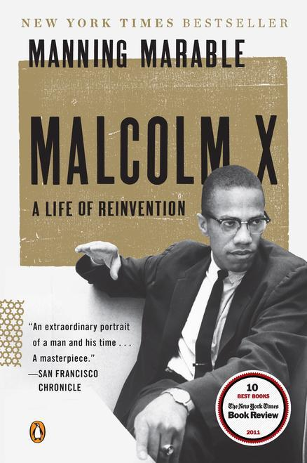 """In this book cover image released by Viking, """"Malcolm X: A Life of Reinvention"""" by Manning Marable, is shown. Marable, who died in 2011, was awarded the 2012 Pulitzer Prize for History on Monday, April 16, 2012. (AP Photo/Viking)"""