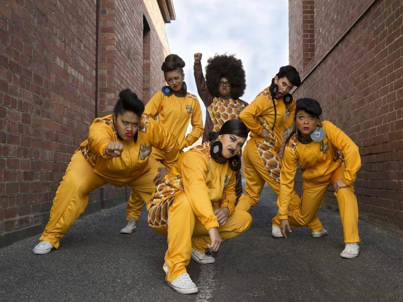 Hot Brown Honey's shows mix hip hop, dance, circus, and burlesque (Danika Yakina)