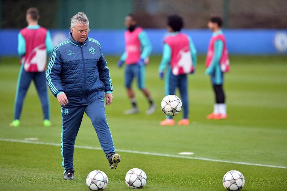 Chelsea's fans will bid farewell for a second time to interim manager Guus Hiddink, who has managed to steady the ship since succeeding Jose Mourinho in December (AFP Photo/Glyn Kirk)