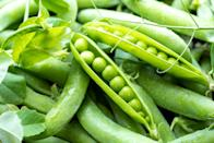 <p>Peas and springtime tend to go hand-and-hand, but early-maturing peas can also thrive in October for those living in warmer regions of the country. There are plenty of varieties to chose from, but the key to making sure any species tastes sweet is planting them in area that gets full sun exposure. You'll also want to make sure to have a trellis or supports available as these plants prefer to climb. Gardeners often recommend planting peas near strong-scented herb such as basil or rosemary to ward off aphids. </p>