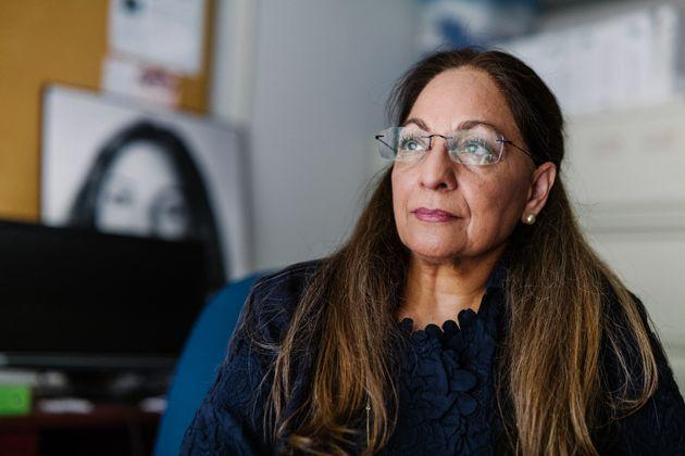 Daisy Khan, executive director of the Women's Islamic Initiative, was the co-founder of a pre-9/11 and post-9/11 plan to build an interfaith community center and mosque near Manhattan's Ground Zero, but the project never came to fruition. (Photo: Ryan Christopher Jones for HuffPost)