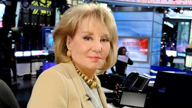 Barbara Walters Recovering After Fall (ABC News)