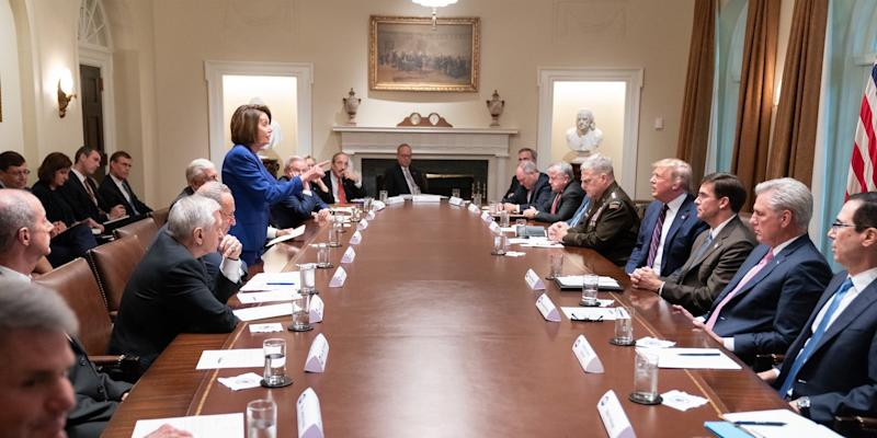 Pelosi Trump Meeting
