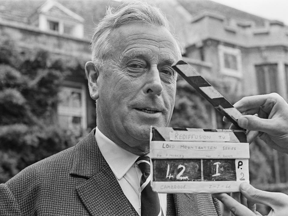 Lord Mountbatten on 7 July 1966 (Photo by Ronald Dumont/Express/Hulton Archive/Getty Images)