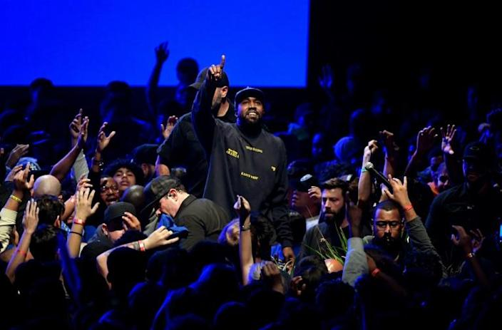 Kanye West is up for a Grammy for... Best Contemporary Christian Music Album