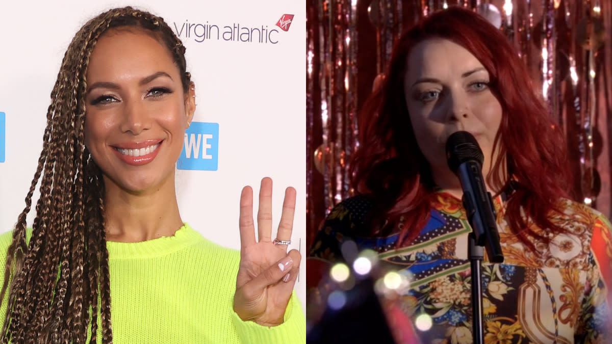 Leona Lewis was delighted when 'EastEnders' star Shona McGarty performed her song on the popular soap. (Mike Marsland/WireImage/BBC)