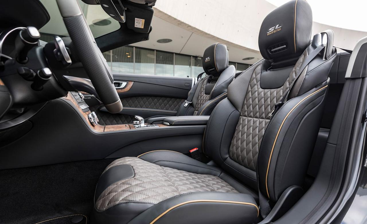 <p>The official names for the diamond-quilted leather and tan piping are Tundra Brown Pearl and Golden Olive Pearl, respectively.</p>