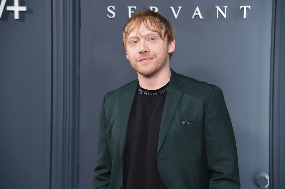 "Rupert Grint attends Apple TV+'s ""Servant"" World Premiere at BAM Howard Gilman Opera House on November 19, 2019 in New York City. (Photo by Gary Gershoff/WireImage)"