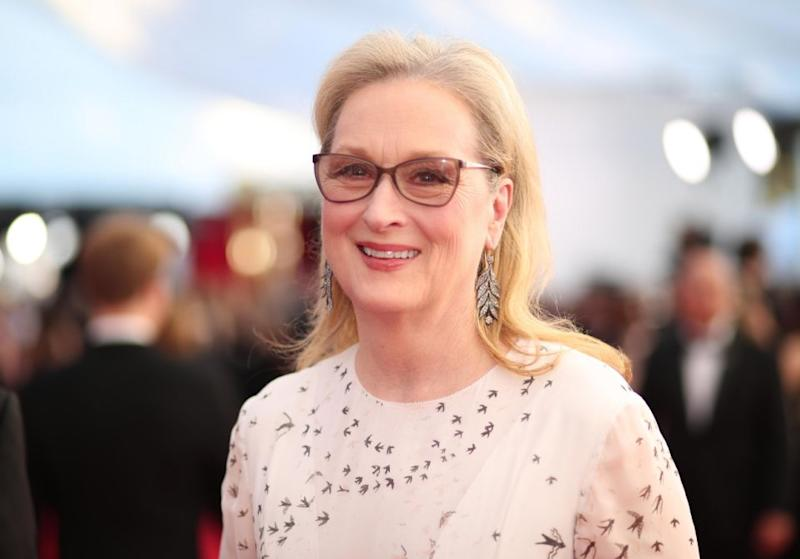 It was recently announced Meryl, pictured here at the 2018 SAG Awards, had signed on to Big Little Lies for season two. Source: Getty