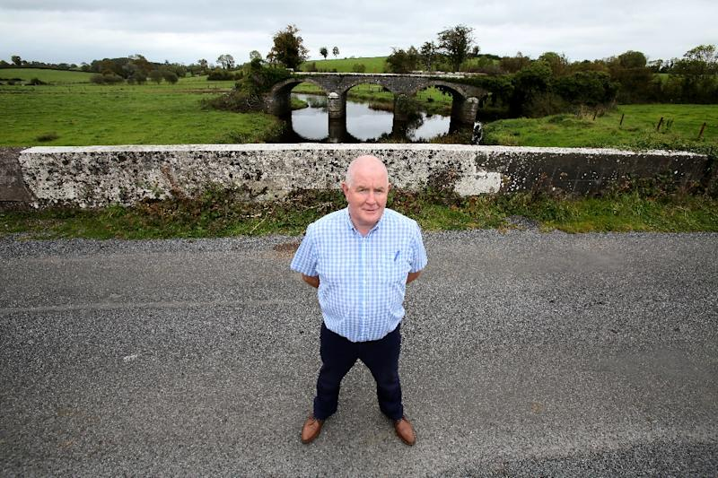 """""""It's not feasible, and we don't want it,"""" said lifelong Polyp resident John Connolly of the possib (AFP Photo/PAUL FAITH)"""