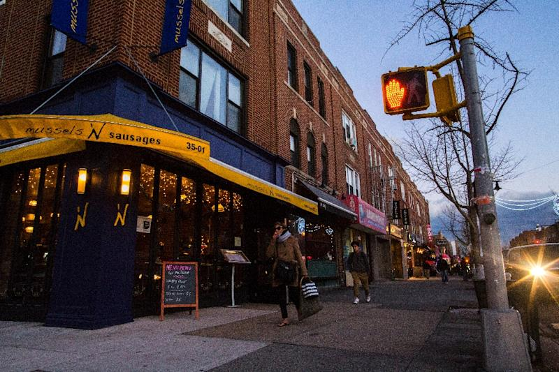 Queens Borough, New York, is working-class, so while the new restaurateurs who are redefining the area charge higher than average, they also try to stay affordable (AFP Photo/Eduardo Munoz Alvarez)