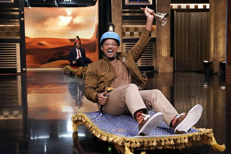 <p>Will Smith on <em>The Tonight Show Starring Jimmy Fallon</em> on May 6, 2019.</p>