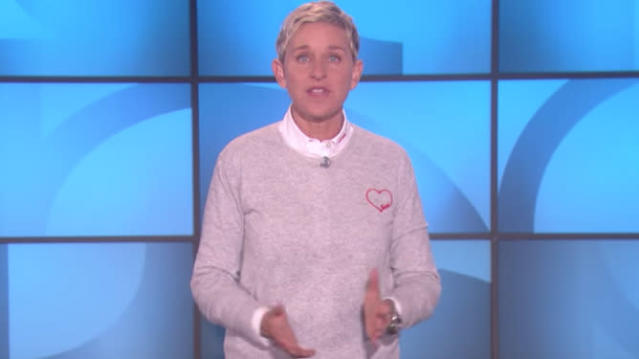 Ellen DeGeneres is absolutely distraught about the mass shooting that took place in Las Vegas on Sunday but she has a plan to help combat the darkness felt in its aftermath.