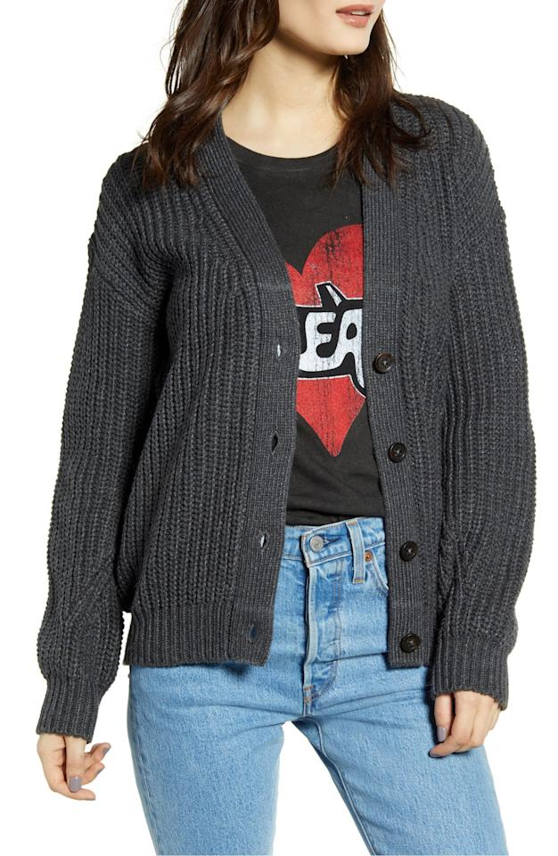 "<p>This <a href=""https://www.popsugar.com/buy/BP-Grandma-Stitch-Cardigan-493753?p_name=BP.%20Grandma%20Stitch%20Cardigan&retailer=shop.nordstrom.com&pid=493753&price=33&evar1=fab%3Aus&evar9=46284514&evar98=https%3A%2F%2Fwww.popsugar.com%2Ffashion%2Fphoto-gallery%2F46284514%2Fimage%2F46712195%2FBP-Grandma-Stitch-Cardigan&list1=shopping%2Cnordstrom%2Csummer%20fashion%2Caffordable%20shopping&prop13=api&pdata=1"" rel=""nofollow"" data-shoppable-link=""1"" target=""_blank"" class=""ga-track"" data-ga-category=""Related"" data-ga-label=""https://shop.nordstrom.com/s/bp-grandma-stitch-cardigan/5177546?origin=category-personalizedsort&amp;breadcrumb=Home%2FWomen%2FClothing%2FSweaters&amp;color=beige%20birch"" data-ga-action=""In-Line Links"">BP. Grandma Stitch Cardigan</a> ($33, originally $55) is a great basic to have.</p>"