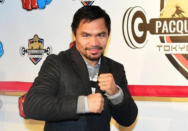 WBO welterweight champion Manny Pacquiao will defend his title on July 2 in Brisbane, Australia, (July 1 in U.S.) against Jeff Horn. (Getty)