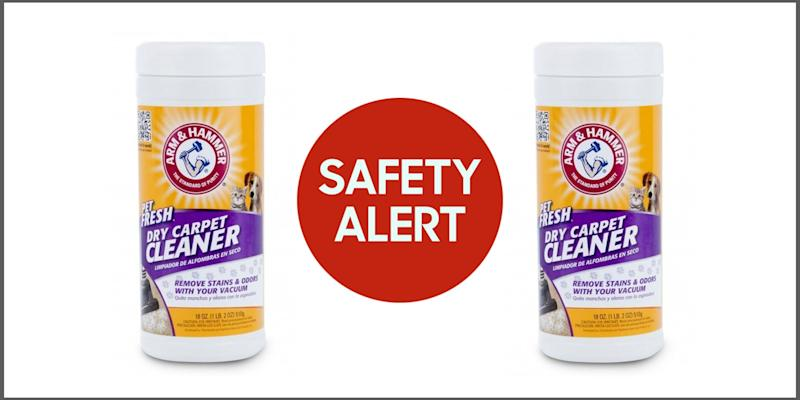 Multiple Dry Carpet Cleaner Brands Recalled For Bacteria