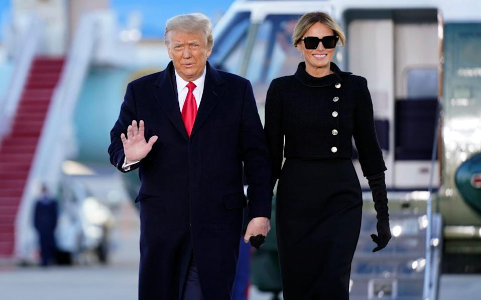 Melania Trump has not extended the hand of friendship – or even a cup of Lapsang and a mini muffin – to Jill Biden - AP