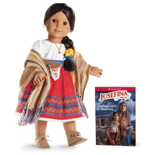 <p>As a young Mexican girl in 1824 living in New Mexico, Josefina Montoya has to adapt to the loss of her mother, and she learns to become a healer by her aunt. She's also got a pet goat, which makes me v jealous.</p>
