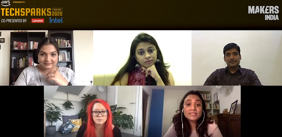 MAKERS India's online discussion during TechSparks 2020: Doubling down on diversity and inclusion in the workplace