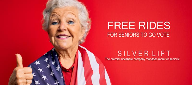 Silver Lift is offering free transportation to Austin-area senior citizens wanting to vote. (Photo: Courtesy of Silver Lift)