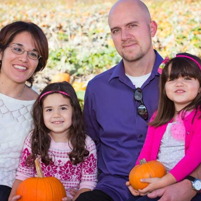 Clara Forman, at left, with daughters and husband Jacob   Facebook