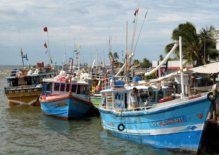 Thousands of Sri Lankans use small fishing boats to try to reach Australia and New Zealand in search of jobs