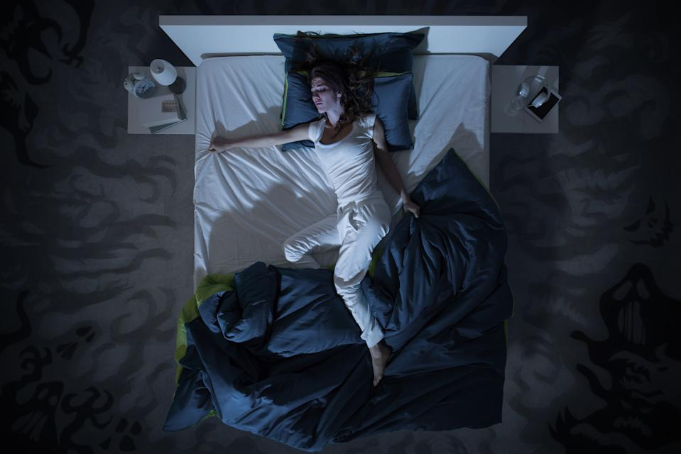 More people are reporting they've been having nightmares since the pandemic began. Photo: Getty