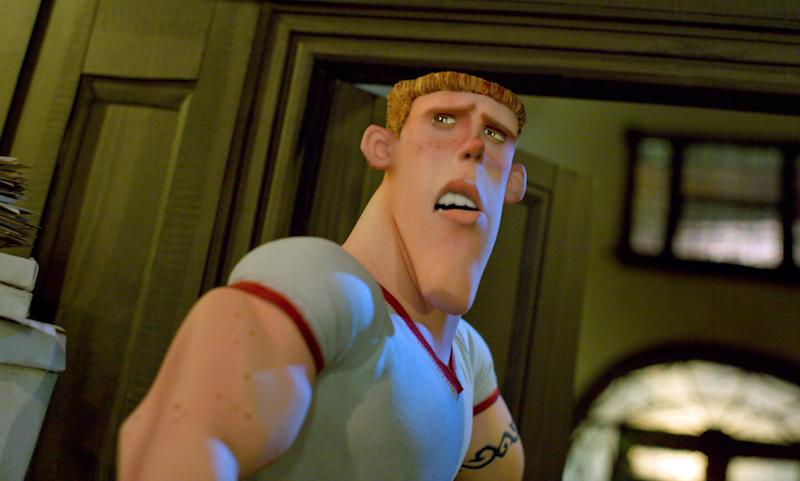 "This film image released by Focus Features shows the animated character Mitch, voiced by Casey Affleck, in a scene from ""ParaNorman."" The character Mitch in the 2012 ""ParaNorman"" was revealed at the end to be gay. The GLAAD advocacy group says that movie was an exception in a year that showed Hollywood's major studios are reluctant to include LGBT characters in important roles in their films. (AP Photo/Focus Features)"