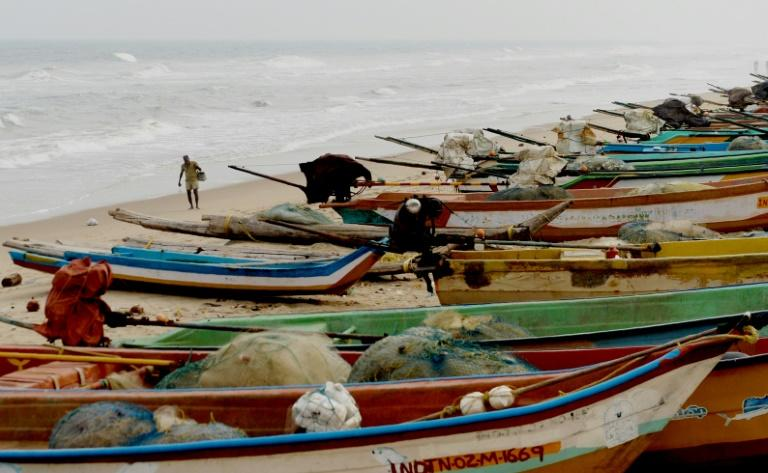Authorities in India's Tamil Nadu had been warning fishermen since Sunday not to risk going out to sea as Cyclone Gaja approached