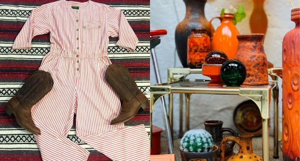 The best online thrift stores: vintage clothing and antiques (Image via House of Vintage Toronto and