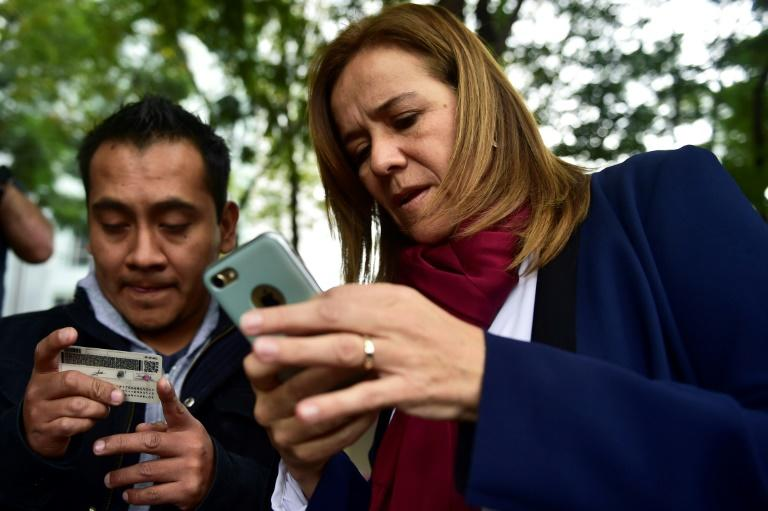 Margarita Zavala (R), a former lawmaker and first lady, is standing as the first independent presidential candidate in Mexico's recent history
