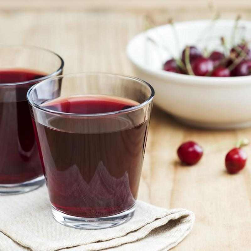 It might not be in your regular shop but cherry juice might be worth a buy if you're stuck for sleep. Photo: Getty