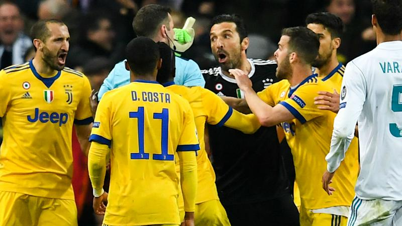 Buffon stands by Oliver comments after Champions League meltdown