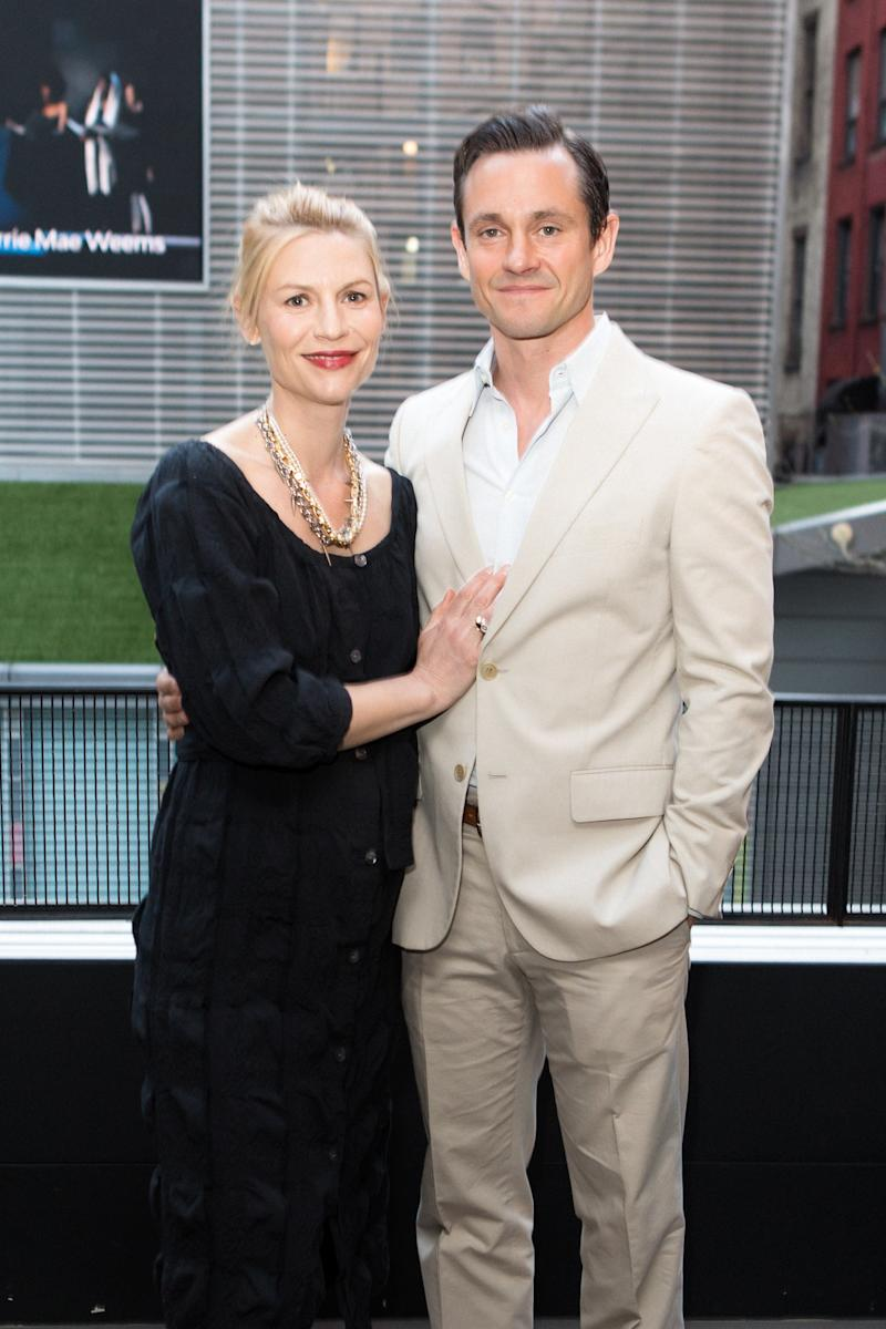 Claire Danes and Hugh Dancy attend the Art21 gala.