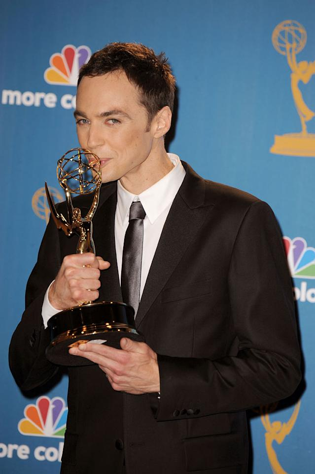 """<b>BEST: Jim Parsons Wins</b><br> He was the favorite to win Best Actor in a Comedy, but it was still great to see the """"Big Bang Theory"""" star finally take home a statuette for his role as the neurotic Sheldon.<br><br>  <a href=""""http://www.televisionwithoutpity.com/show/emmy_awards/emmy_awards_2010_best_and_wors.php?__source=tw